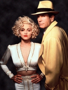 Madonna and Warren Beatty in &#8216;Dick Tracy&#8217;