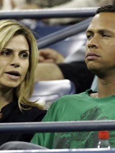 New York Yankee star Alex Rodriguez and his wife, Cynthia, in 2007