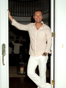 Ryan Seacrest celebrated July 4th at The Estate in Sag Harbor, NY