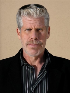 Ron Perlman poses in New York