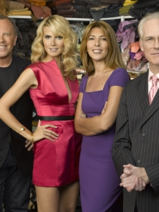 Michael Kors, Heidi Klum, Nina Garcia and Tim Gunn