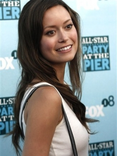 Summer Glau poses on the press line at the FOX Networks Summer TCA party in Santa Monica
