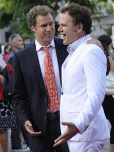Will Ferrell and John C. Reilly at the premiere of 'Step Brothers'