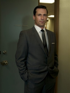 Jon Hamm stars as Don Draper in 'Mad Men'