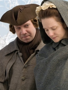 Paul Giamatti and Laura Linney in the HBO films miniseries 'John Adams'