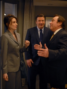 Tina Fey, Alec Baldwin and Rip Torn on '30 Rock'