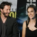 Keanu Reeves and Jennifer Connelly promote 'The Day The Earth Stood Still'