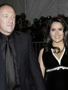 Salma Hayek and businessman Francois-Henri Pinault