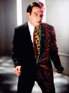 Tommy Lee Jones as Two Face in 'Batman Forever'