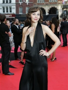 Maggie Gyllenhaal at &#8216;The Dark Knight&#8217; London premiere, July 21, 2008 