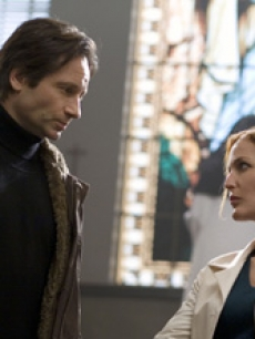 David Duchovny reunites with Gillian Anderson