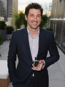 Patrick Dempsey unveils his new men's fragrance from Avon called 'Unscripted' in NY