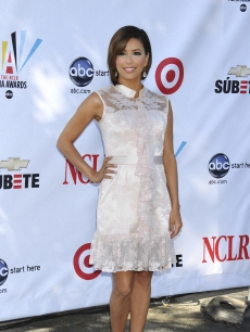 Eva Longoria announces the nominees for the Alma Awards in LA