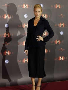Maria Bello in Berlin for 'The Mummy-Tomb of the Dragon Emperor'