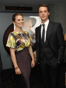 """Brideshead Revisited"" stars Hayley Atwell and Matthew Goode at a screening in NY"
