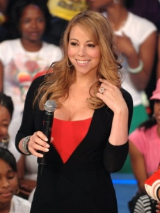 Mariah Carey makes an appearance on BET's '106 & Park'