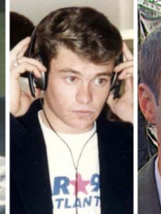 Ryan Seacrest at ages 10, 16 and 33