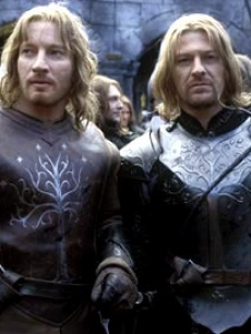 Sean Bean as Boromir (right) in 'The Lord of the Rings: The Two Towers'