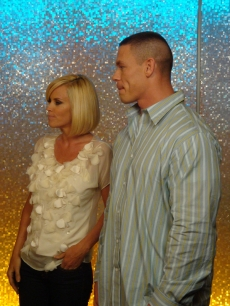Jenny McCarthy and WWE star John Cena