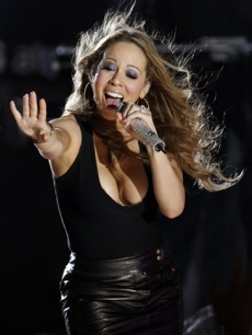 Mariah Carey performs as part of the Samsung AT&T Summer Krush concert series in Los Angeles