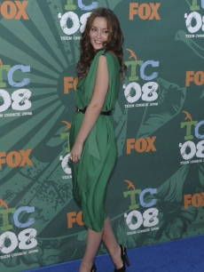 'Gossip Girl,' Leighton Meester, at the Teen Choice Awards