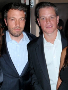 Jennifer Garner, Ben Affleck, Matt Damon and Luciana Barroso host a fundraiser for Obama at SET 
