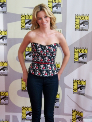 Elizabeth Banks at San Diego Comic Con 2008