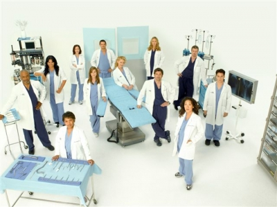 Grey's Anatomy Season 5  - Cast Photo