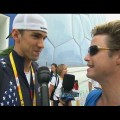Video 285098 - Access Extended: Michael Phelps Reacts To Setting Olympic Record