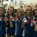 Video 285237 - 2008 Beijing Olympics: U.S. Women&#8217;s Gymnastics Team Settles For Silver