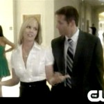 Jennie Garth as Kelly Taylor and Rob Estes as Harry Mills on '90210'