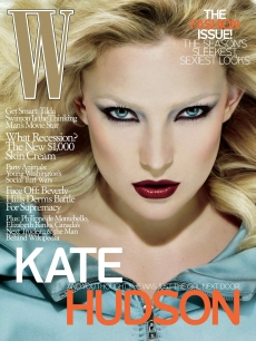 Kate Hudson on the cover of W