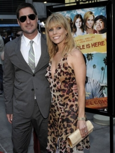 Luke Wilson and Cheryl Hines, at the premiere of 'Henry Poole Is Here' in Los Angeles