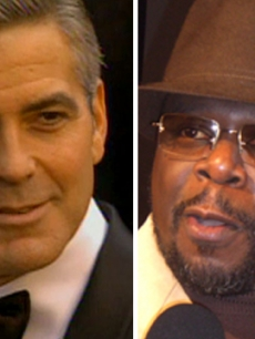 George Clooney, Cedric The Entertainer 
