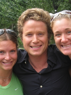 Olympic skier Julia Mancuso, Billy Bush and Kerri Walsh