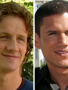 Swimmer Ryan Lochte and 'Prison Break' star Wentworth Miller