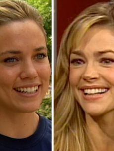 Swimmer Natalie Coughlin and actress Denise Richards