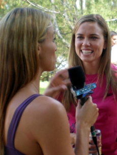 Amanda Beard interviews Natalie Coughlin