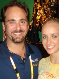 Lead Olympics producer Steve Harding &amp; gold medalist Nastia Liukin