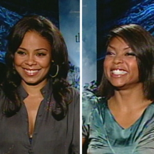Video 525801 - Sanaa Lathan and Taraji P. Henson talk about playing positive characters in their latest Tyler Perry film, &#8220;The Family That Preys.&#8221;