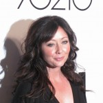 Shannen Doherty at the '90210' launch party