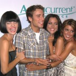 Dustin Milligan and the young women of '90210' — AnnaLynne McCord, Jessica Stroup and Shenae Grimes