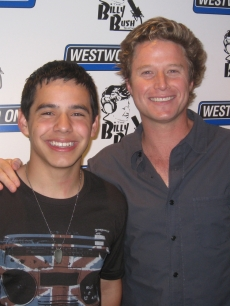 David Archuleta and Access Hollywood&#8217;s Billy Bush on &#8216;The Billy Bush Show&#8217;