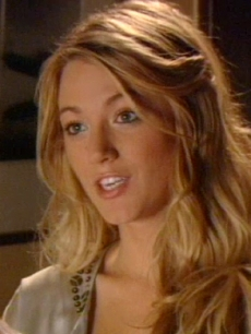 Serena van der Woodsen (Blake Lively) in Gossip Girl
