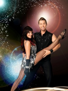 DANCING WITH THE STARS - Lance Bass and Lacey Schwimmer 