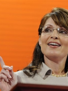 Sarah Palin speaks at the Republican National Convention