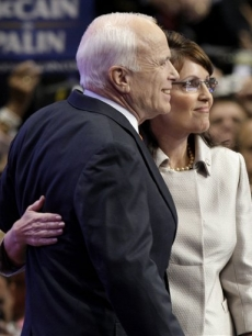 John McCain and Sarah Palin at the RNC