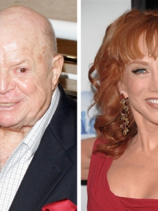 Don Rickles and Kathy Griffin