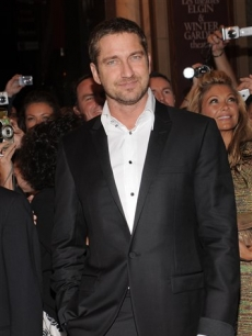 Gerard Butler attends a screening of 'RocknRolla'