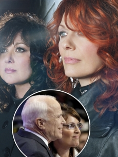 Rock group Heart and John McCain & Sarah Palin